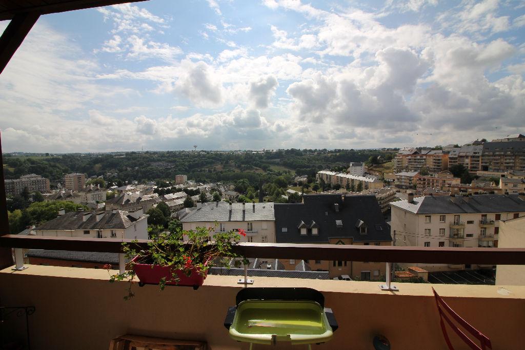 - A VENDRE -  Appartement 3 pièces, balcon/terrasse, cave, parking - RODEZ
