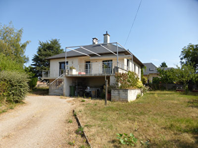 - FOR SALE - House T4 / 5 with adjoining land - BOZOULS